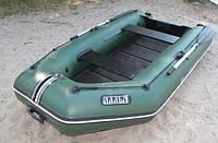 Надувная лодка Ладья ЛТ-290-МВЕ (моторная) со сланью-книжкой и передвижным сиденьем, фото 3