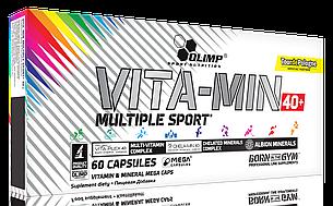 Вітаміни 40+ Olimp Vitamin Multiple Sport 40+ 60 caps