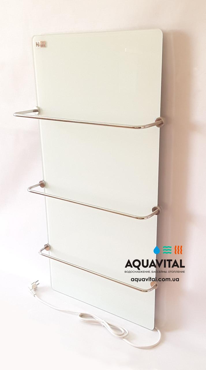 Полотенцесушитель стеклокерамический HGlass Basic 5010 W (белый)