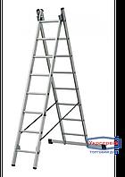 Лестница 2-х секционная ELKOP VHR 2*6