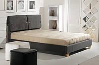 """Кровать с п/м 1,6 """"Феллини"""" (грей-сапфир), фото 1"""