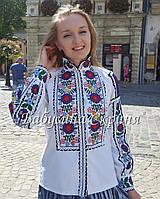 Сорочка-мальованка в техниці колодочки МВ-139, фото 1