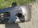 Бампер передний Nissan Vanette Serena C23 1994-2001г.в. серый, фото 3