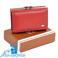 Женский кошелёк из кожзама Sergio Torretti W11 red, фото 1