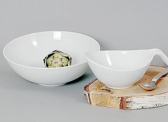 Салатники белые
