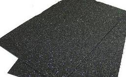 Фоамиран 2мм 20х30см на клейкой основе Черный
