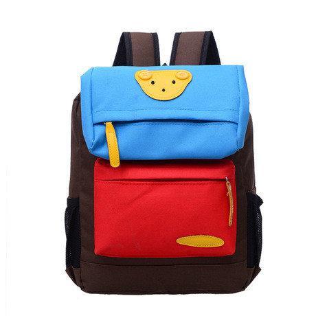 Рюкзак детский школьный Мишка Коричневый