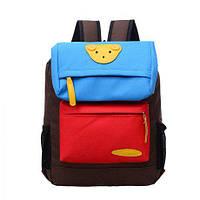 Рюкзак детский школьный Мишка Коричневый, фото 1