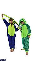 Детская пижама цельная кигуруми Зайчик, 112-135, 145-155, 90-116 для мальчиков и девочек, расцветки