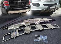 Накладка на передний и задний бампера Mercedes ML164