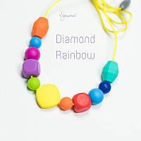 Силиконовые слингобусы Diamond Rainbow BABY MILK TEETH