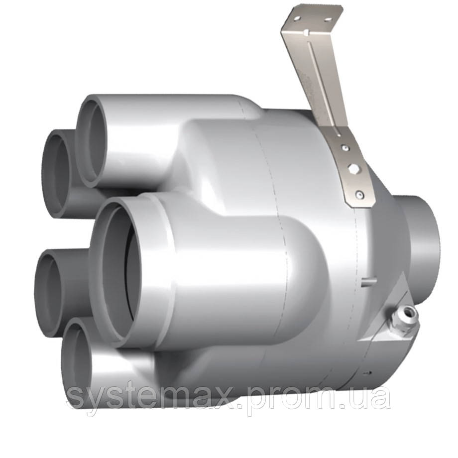 ВЕНТС ВК ВМС 125 (VENTS VK VMS 125) - многозональный канальный вентилятор смешанного типа