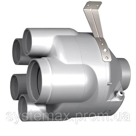 ВЕНТС ВК ВМС 125 (VENTS VK VMS 125) - многозональный канальный вентилятор смешанного типа , фото 2