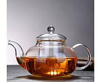 Заварочный стеклянный чайник 800 мл, фото 1
