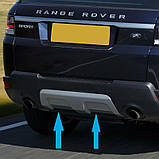 Накладка на передний и задний бампера Range Rover Sport с 2013 года, фото 7