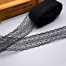 Кружево Анжелика  4 см, черный