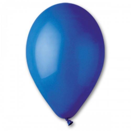 """Воздушные шары Gemar 12"""" (30 см), Пастель Тёмно-синий 46, 100 шт (G110)"""