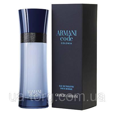 Giorgio Armani Armani Code Colonia, мужская туалетная вода, 100 ml
