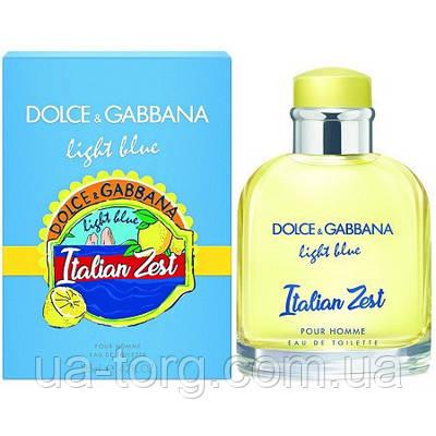 Dolce & Gabbana Light Blue Italian Zest Pour Homme , мужская туалетная вода, 125 ml