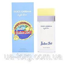 Dolce & Gabbana Light Blue Italian Zest, женская туалетная вода, 100 ml