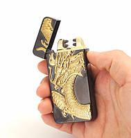 USB зажигалка электроимпульсная с изображением животных №14, фото 1
