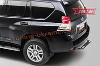 Защита задняя «ступень» d76 Союз 96 на Toyota LC Prado 150 2013-2018 (эксклюзив TMR )