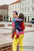 Слинг-шарф LENNYLAMB Symphony Rainbow Dark Jacquard (4,6 м), фото 1