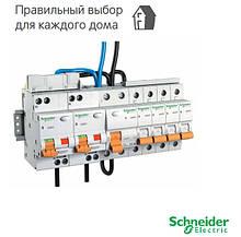 """Выключатели автоматические schneider electric серии """"домовой""""."""