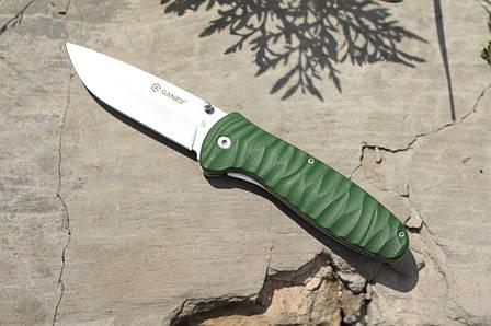 Туристический нож Ganzo Green G6252-GR, фото 2