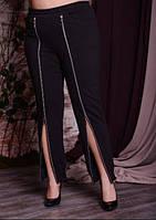 Брюки женские с молниями большого размера, с 48 по 82 размер, фото 1