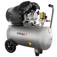 Компрессор двухцилиндровый 2.2 кВт 412 л/мин 8 бар 50 л Sigma (7043711)