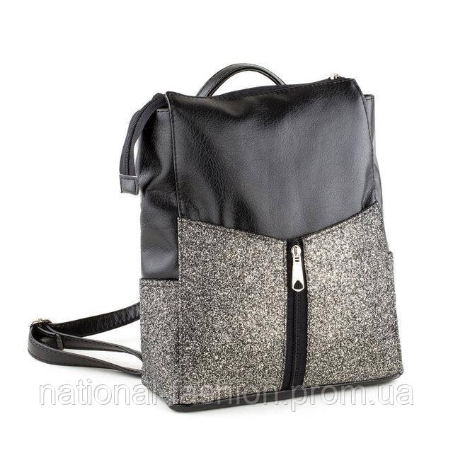be8cc7ced76f ... Женский городской рюкзак-сумка из кожзама