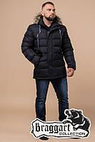 """Куртка мужская зимняя Braggart """"Aggressive"""" черная, коллекция 2018 года, температурный режим до -30 °С"""