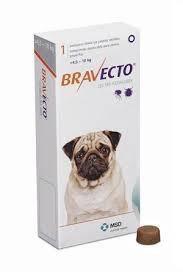 Bravecto 4,5-10кг (таблетки от блох и клещей)