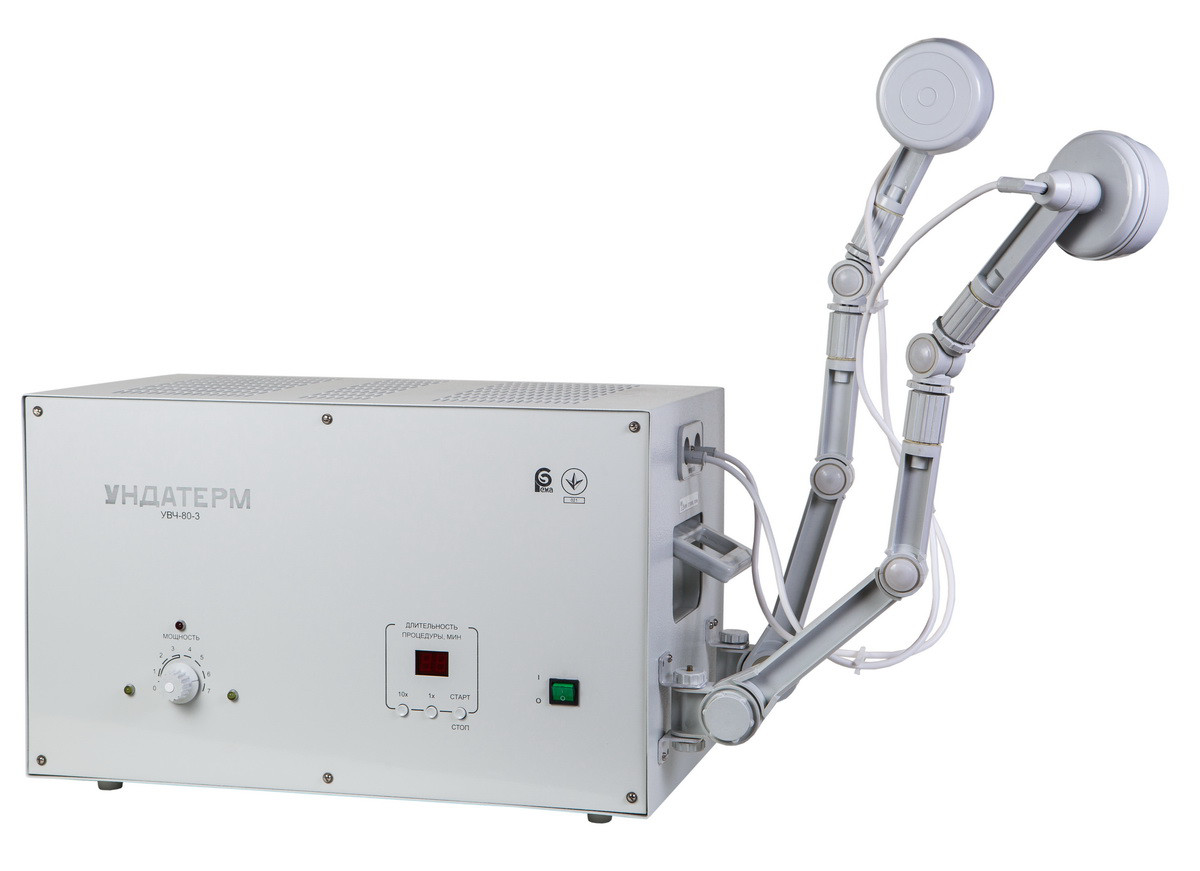 """Апарат для УВЧ терапії УВЧ-80-4 """"Ундатерм"""", з ручним налаштуванням"""