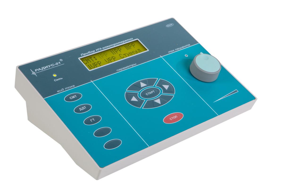 "Апарат низькочастотної електротерапії ""Радіус-01» (режими: СМТ, ДДТ, ГТ)"