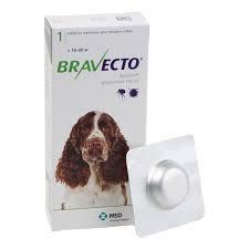 Bravecto 10-20кг (таблетки от блох и клещей)