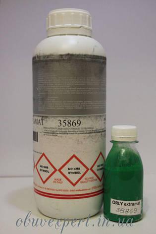 Краска  для уреза кожи Orly BT Extramat 35869, зеленый экстра мат, 100 мл, на водной основе, фото 2