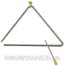 Треугольник металлический Maxtone T37/6