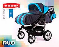 Adbor Duo серый - голубой 14
