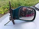 Зеркало заднего вида правое Nissan Vanette Serena C23 1994-2001г.в. зеленое (обрезана фишка), фото 5