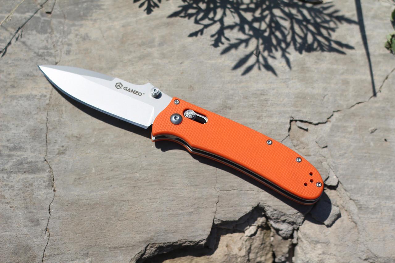 Туристический нож Ganzo (orange) G704OR