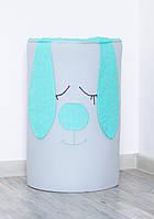 Корзина для игрушек «Мятный зайка», фото 1