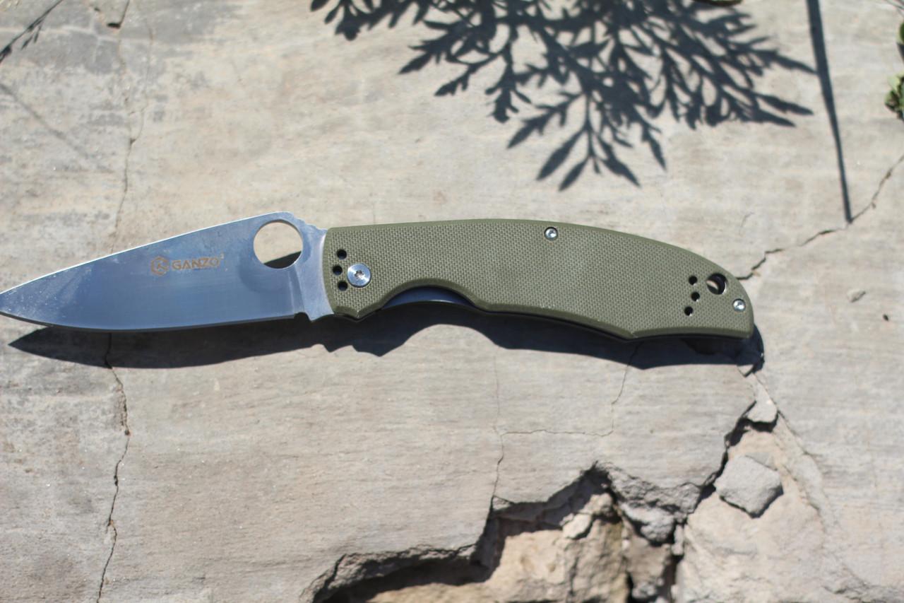 Туристический нож Ganzo (green) G732-GR