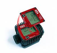 Электронный счетчик учета K24 (PIUSI) для ДТ, бензина. 7-120 л/мин, фото 1