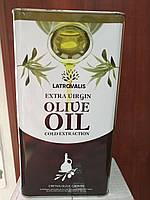 Масло оливковое первого отжима  Latrovalis 5л.