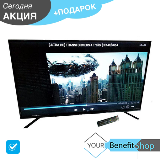 Телевизор LED backlight tv L 56 SMART TV