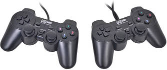 USB джойстик для ПК PC GamePad DualShock DJ-2082 с вибро 2шт (25135)