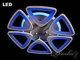 Потолочная недорогая светодиодная люстра 8118/6WH LED 3color dimmer, фото 4