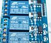 4 канальный модуль реле 12В для Arduino PIC ARM AVR, фото 2